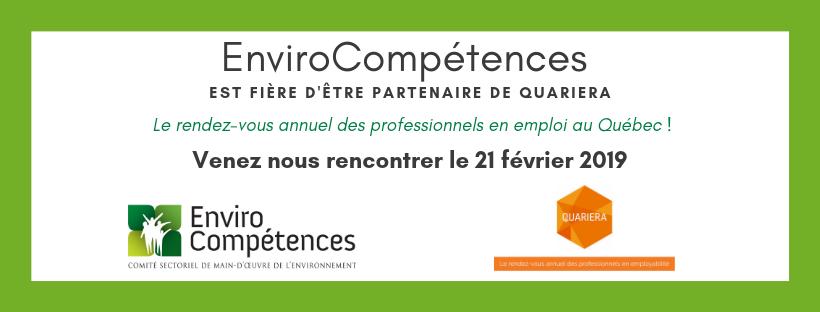 Venez nous rencontrer le 21 février 2019 à Quariera : le rendez-vous des professionnels en employabilité du Québec