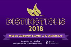 Déposez votre candidature pour la Distinction Cœur Vert avant le 19 janvier prochain!