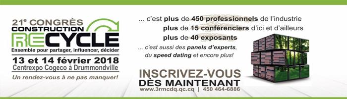 Madame Dominique Dodier, directrice générale d'EnviroCompétences participera en tant que panéliste-experte au Congrès du 3R MCDQ!